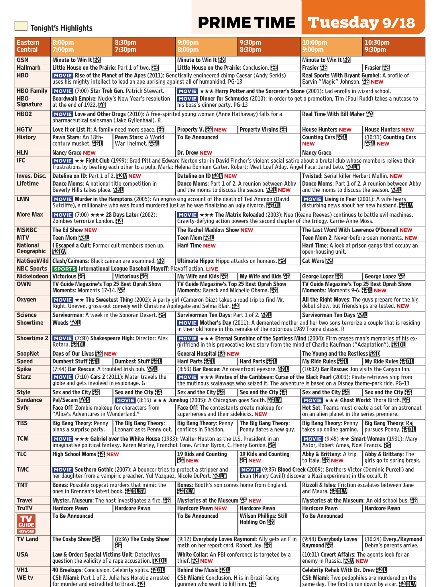 Adult Channel - TV Listings Guide - On