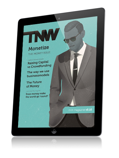 Cover of the 10th issue of TNW Magazine for iPad