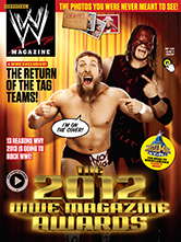 WWE Magazine for iPad made with Mag+